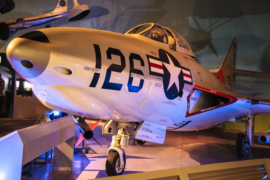 Cradle of Aviation Museum Exhibit
