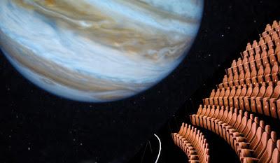 Jet Blue Planetarium