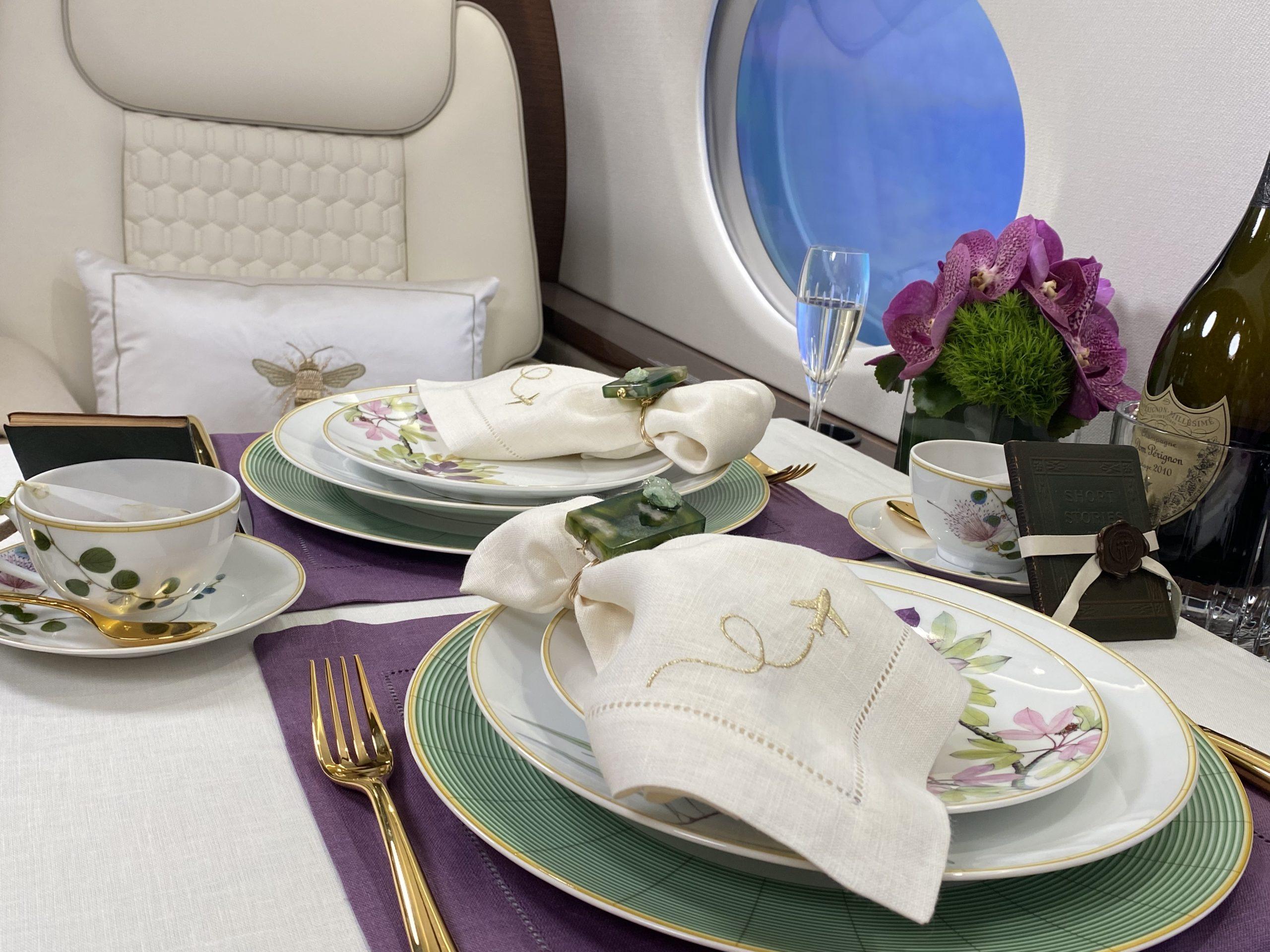 International Jet Interiors X SFERRA Summer Soiree at 40,000 Feet