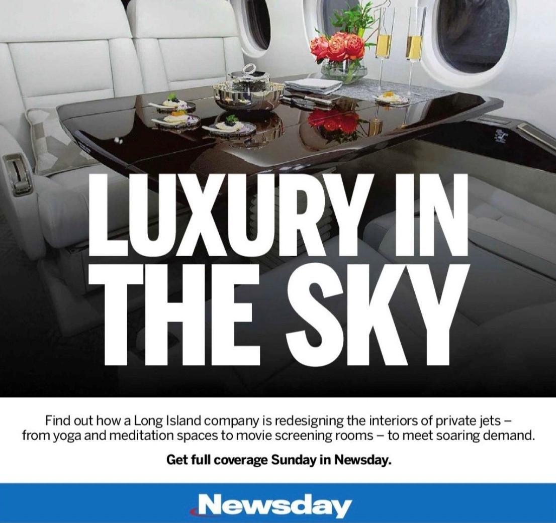 Luxury In The Sky